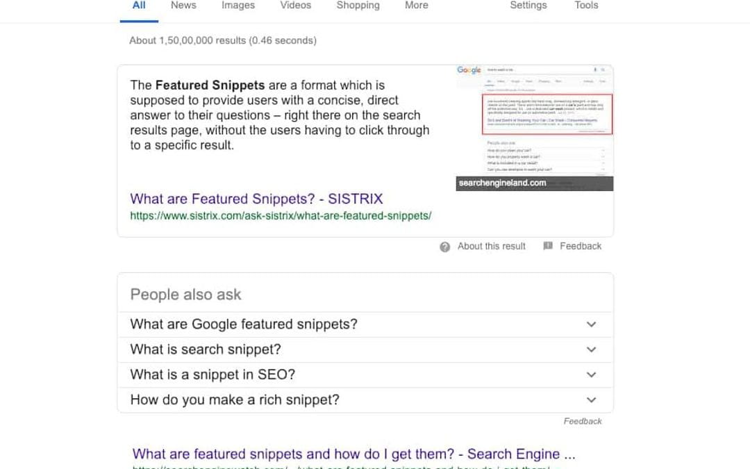 What are featured snippets? What makes them so unique?